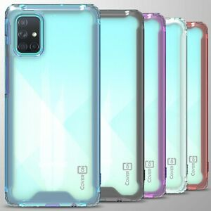 For Samsung Galaxy A71 Case Clear Hard Slim Protective Phone Cover Ebay