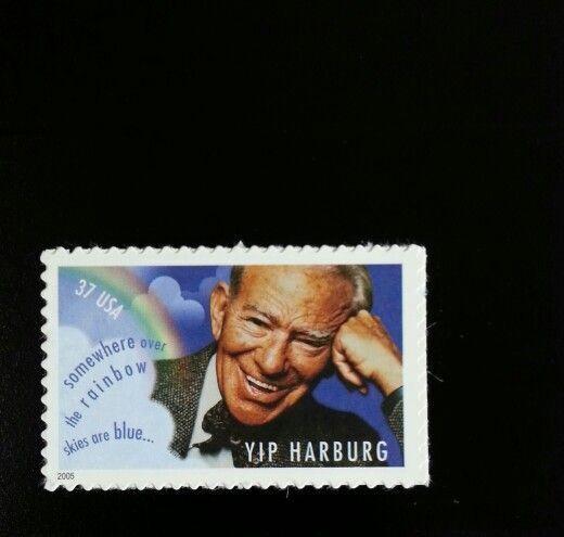2005 37c Yip Harburg, Composer, Rainbow Scott 3905 Mint