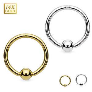 Cartilage Piercing Nasenring Septum Ring Hoop Tragus Helix Gold