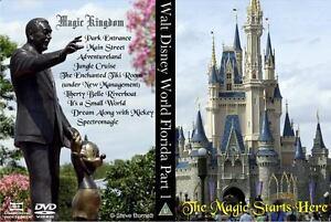 Walt-Disney-World-Florida-Part-1-The-Magic-Starts-Here-DVD-or-Blu-Ray-NEW