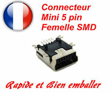 Mini USB 5 Pin Female Connector Buchse Charger SMT SMD Jack Smartphone Navi GPS