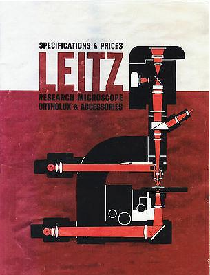 leitz biomed microscope manual
