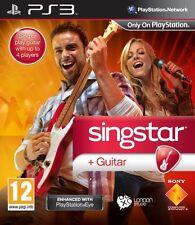 Playstation PS3 PS 3 Spiel Singstar Sing Star + Guitar Gitarre NEU