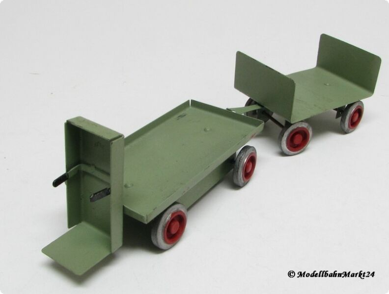 2 piezas de chapa carro para el equipaje para pista 1