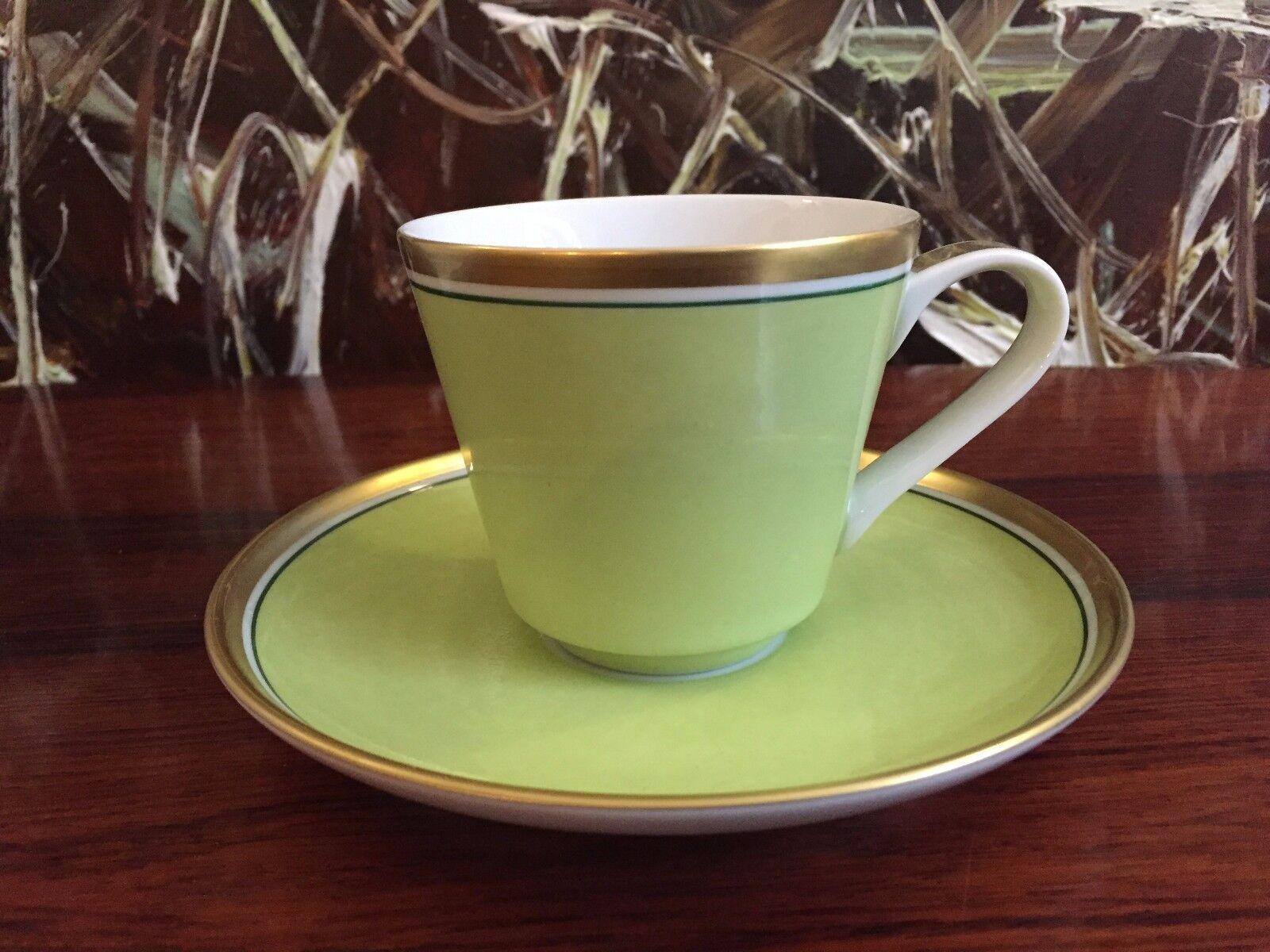 REICHENBACH Colour Collection, Kaffeetasse mit Untertasse green 0,2 Liter - Hoch