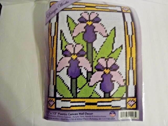 Pack of 12 Plastic Canvas 10X13-Lavender
