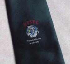 The Masonic Fishing Charity TIE VINTAGE RETRO FREEMASONS MASONS DARK GREEN 1990s