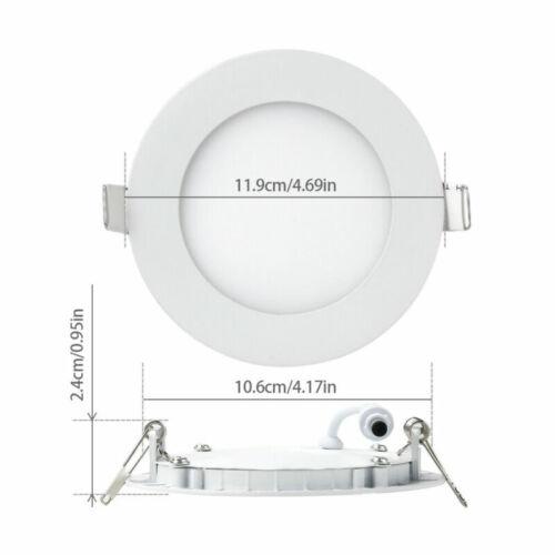 LED Panel Einbaustrahler Deckenleuchte Deckenlampe Spot Lampe 6W 9W 12W 15W 18W