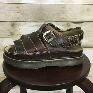 Dr. Martens Brown Leather Sandals Size 11