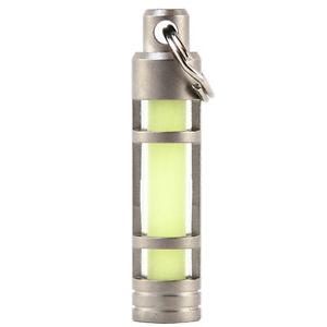 Keysmart Stainless Steel Glow Fob Keychain
