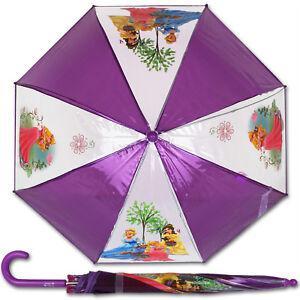 Kleidung & Accessoires Kompetent Disney Regenschirm Minnie Maus Look At Me Kinderschirm Mädchen Mouse 65cm