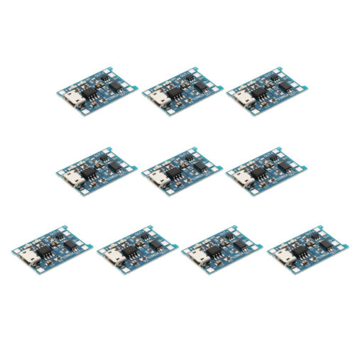 Satz 1S 1A Li Ionen Lithium 18650 Batterieladegerät PCB Protection Board 10x