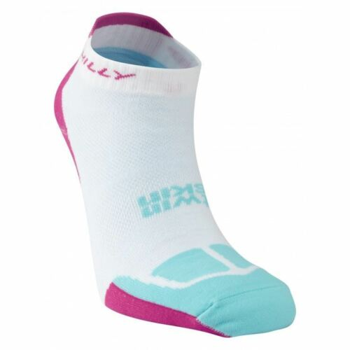 Hilly Twin Skin Socklet Womens Wht//FPink//Aqm S
