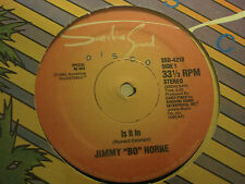 "JIMMY ""BO"" HORNE IS IT IN / I WANNA GO HOME WITH YOU 12"" OG '78 SUNSHINE SEALED!"