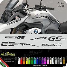 Kit Adesivi Fianco Serbatoio Moto BMW R 1200 gs LC stripes racing becco