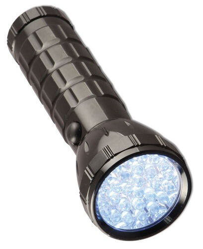 Super Bright 28 LED Torch Red//Grey model E82