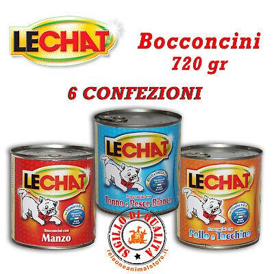Energico Lechat Classico Bocconcini Gatto In Formato Convenienza 720 Gr 6 Pezzi Gatti Beneficiale Per Lo Sperma