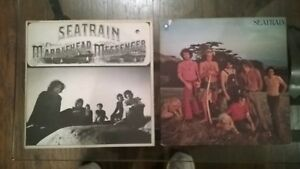 Lot of 2, Seatrain - S/T Debut LP NM 1971 & Marblehead Messenger EX Jazz/ Funk