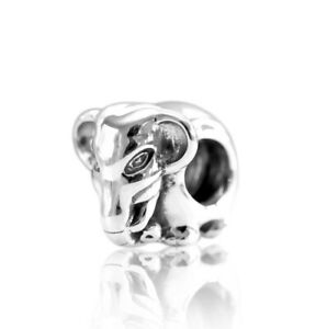Details about Authentic Pandora Sterling Silver Elephant 791130 Charm