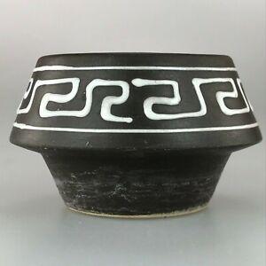 60er-70er-Jahre-Vase-Blumenvase-Tischvase-Ceramic-Keramikvase-Space-Age-Design