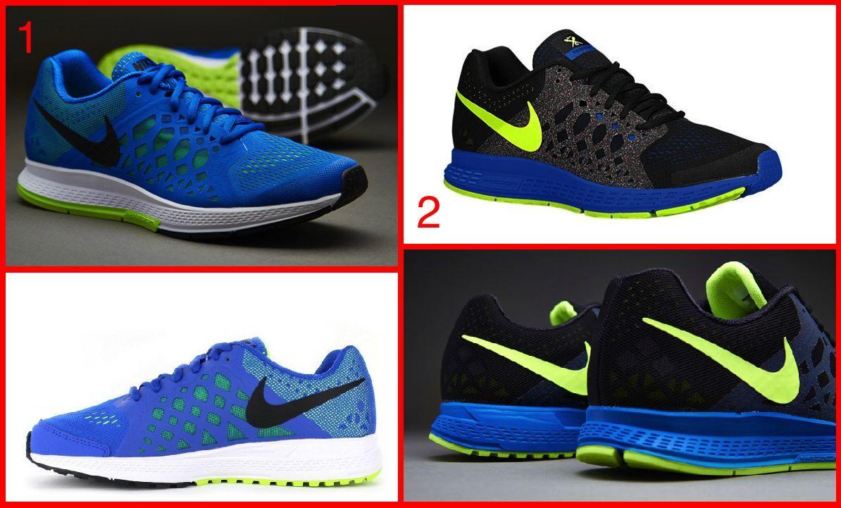 promo code d91d8 2c3bd NWB Mens Nike Air Zoom Pegasus 31 Running Training Shoes Blue Black Volt