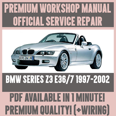 details about *workshop manual service & repair guide for bmw z3 e36/7  1997-2002 +wiring