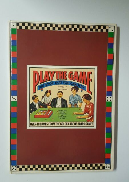 Play The Game,The Book That You can Play  By Brian Love 1978 (k)