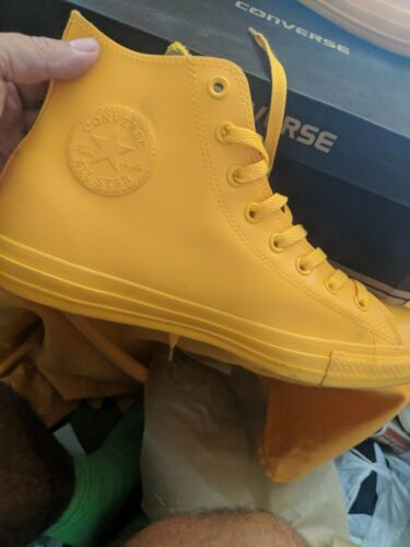 WILD HONEY/ YELLOW CONVERSE RUBBER SHOES BOLD / BE