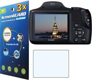 "3 Pack Cámara LCD Film Protector de pantalla para Canon PowerShot SX260 HS 3/"""