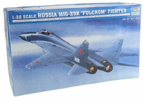 Russia Mig-29 K Fulcrum Fighter 1:32 Plastic Model Kit TRUMPETER