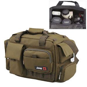 large women mens camera shoulder carry bag insert fit dslr