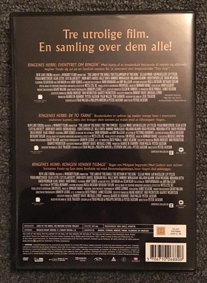 Ringenes Herre (Lord of the Rings) samling, instruktør