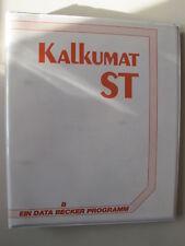 ATARI ST Kalkumat DATA BECKER inkl original Diskette