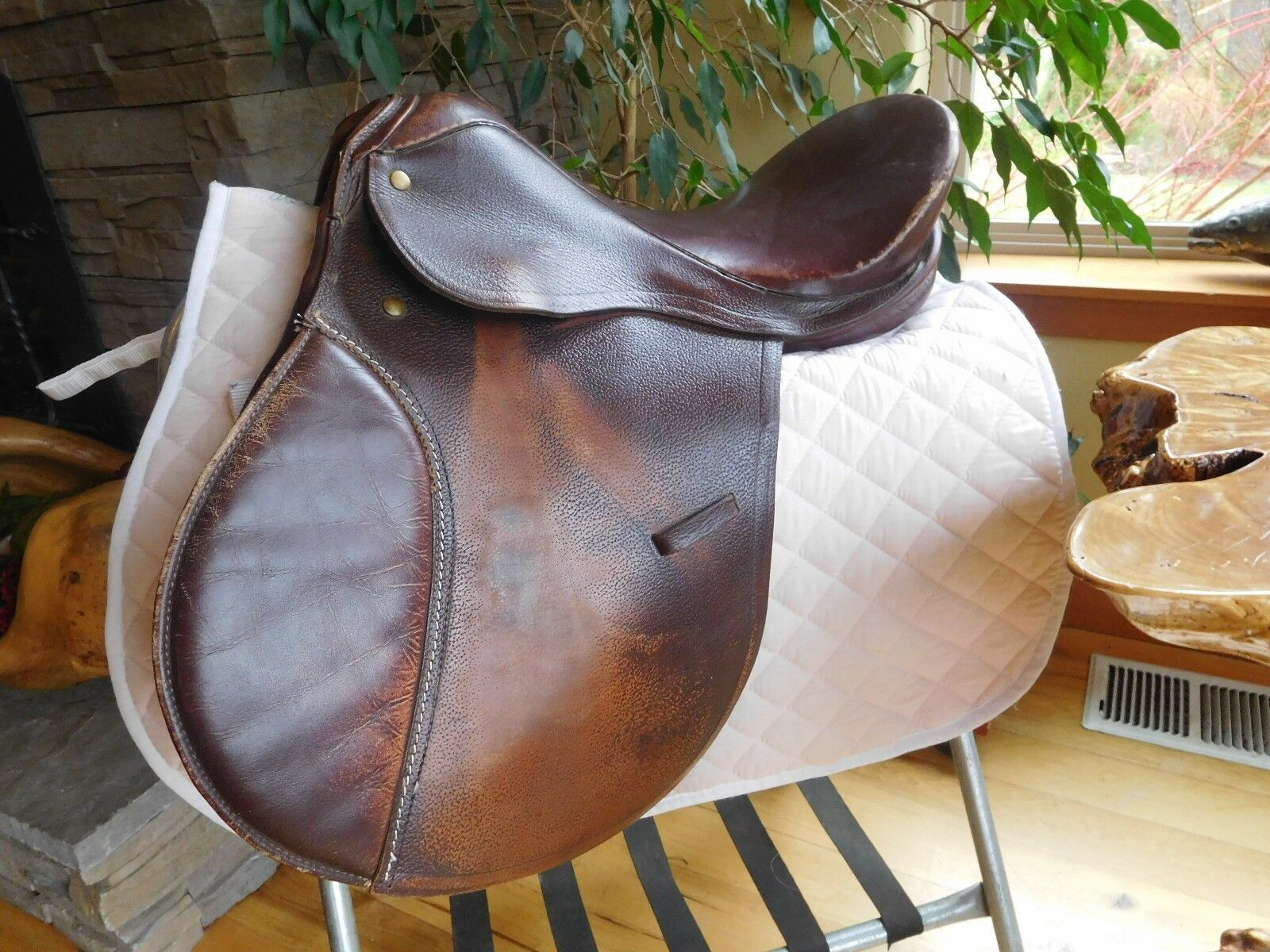 16.5 All Purpose English Schooling Saddle Med Tree w Extras ES75