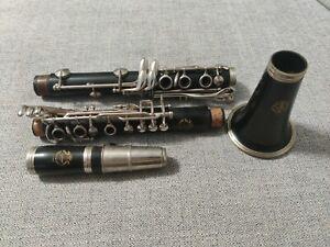 Vintage McIntyre Ecole System Bb Clarinet Bakelite
