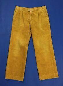 pantalone velluto a coste uomo usato gamba dritta W36 tg 50 boyfriend T4781
