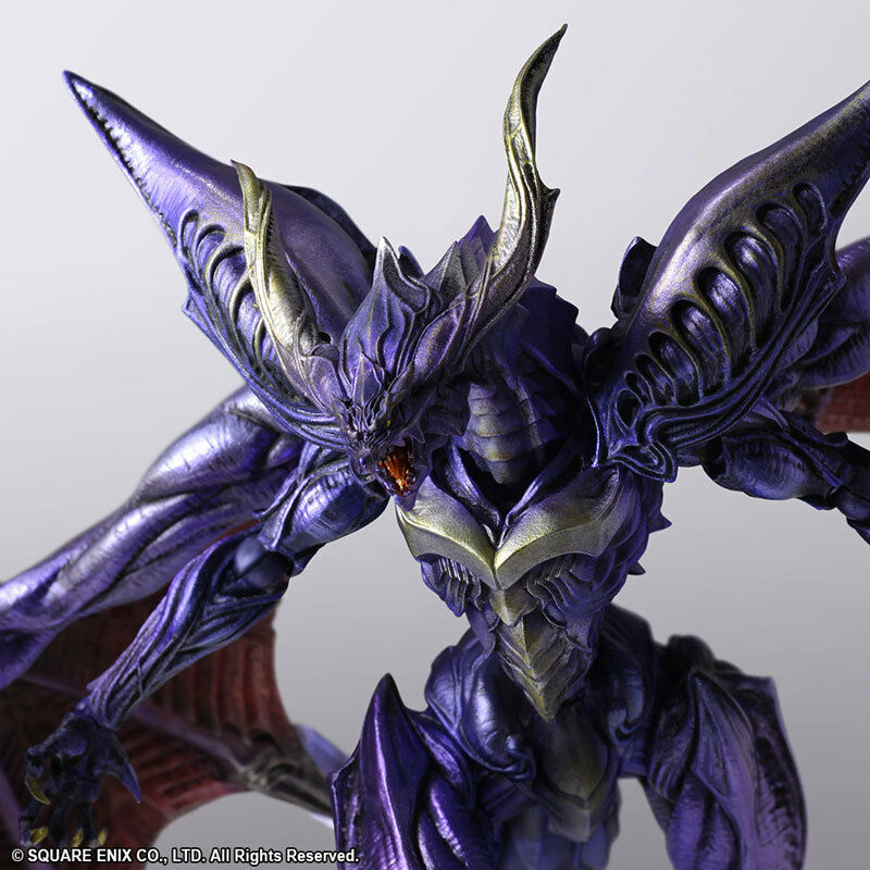 Final Fantasy Creatures Bring Arts Bahamut Square Enix Japan NEW