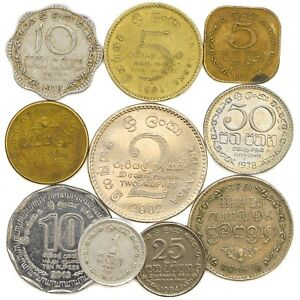 SRI-LANKA-COINS-FROM-SOUTH-ASIA-ISLAND-SRI-LANKAN-OLD-COLLECTIBLE-COINS-RUPEES