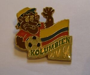 WORLD-CUP-94-USA-SOCCER-COLOMBIA-Limited-Edition-500-vintage-pin-badge-Z8J