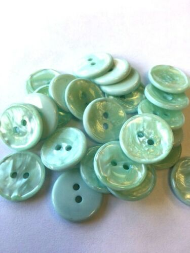 Pearlised Marble Effect Buttons 16.5mm 26L Colour Choice And Pack Sizes