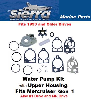 MerCruiser Alpha gen one 1 water pump impeller housing kit sierra 18-3320
