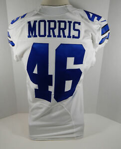 2013 Dallas Cowboys Alfred Morris #46 Game Issued White Jersey | eBay