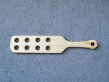 "US Style 18"" x 4"" Redwood Spanking Punishment Paddle with holes (cane)"