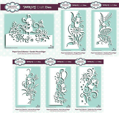 CREATIVE EXPRESSIONS MICE EDGER COLLECTION 2019 EDGER DIES PAPER CUTS DIES