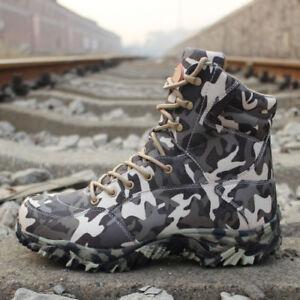 Mens-Military-Desert-Boots-Combat-Shoes-Tactical-Hiking-Waterproof-Climbing-Camo