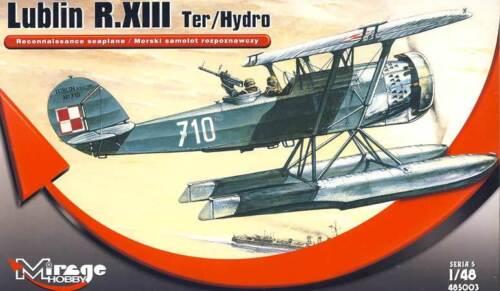 Mirage Lublin R.XIII Ter//Hydro Polen Wasserflugzeug Modell-Bausatz 1:48 NEU kit