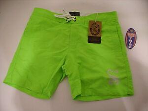 Men's Clothing Swimwear Cheap Sale EscorpiÓn Bay Boardshorts Pantalones Cortos Traje De BaÑo Mbs2751 83 Verde NeÓn