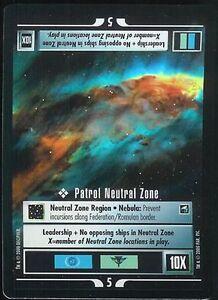 Star Trek CCG Bajoran Wormhole Foil Promo Tournament