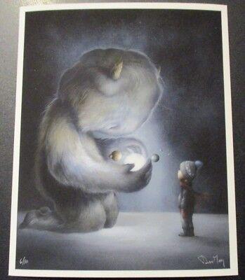 """DAN MAY Giclee Print PATIENT SEASON Gentle Creatures 8X10/"""" poster art"""