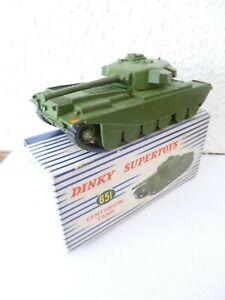 Tank Centurion Véritable Dinky Toys En Bel État